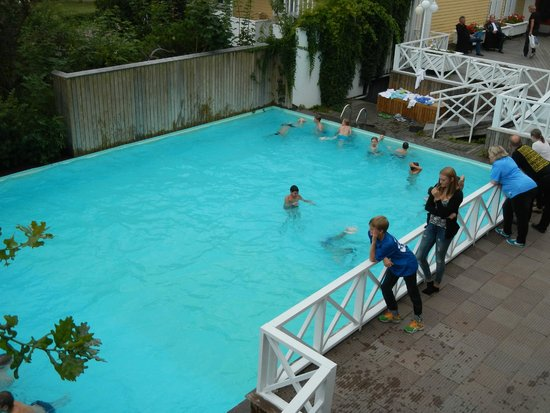 Hotel Cikada: Pool is heated