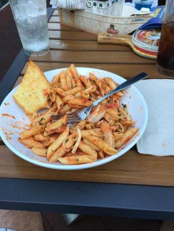 Bubba Gump Shrimp Co: Seafood pasta