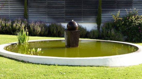 Marianne Wine Estate Guesthouse : The water feature