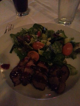 St. Andrews : Roast duck appetizer. So good it's ridiculous!