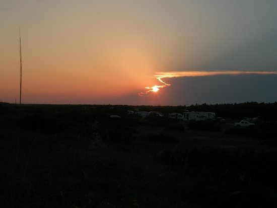 Ocracoke Campground: Sunset