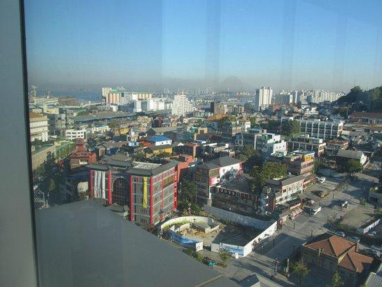 Harbor Park Hotel: View from top floor restaurant