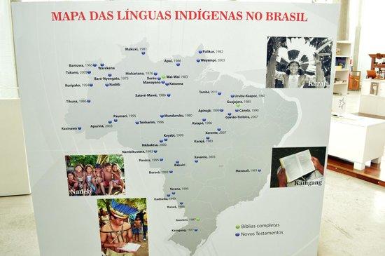Bible Museum: Mapa do Brasil