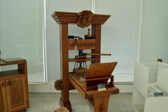 Bible Museum: Maquina de edição