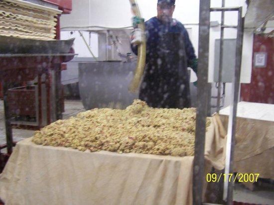 Cold Hollow Cider Mill: Crushed apples