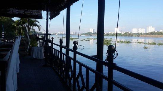 Saigon Domaine Luxury Residences: View from breakfast!