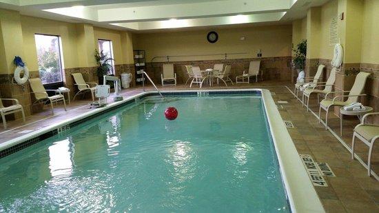 Hampton Inn Utica: The pool