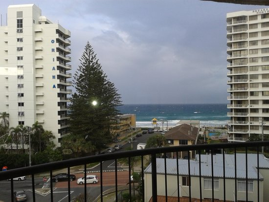 Warringa Surf Apartments: one of the veiws from our apartment