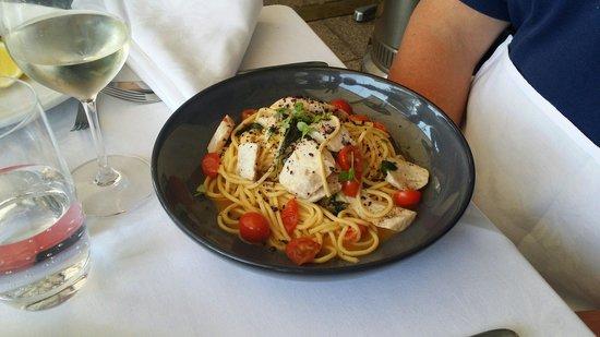 Otto Ristorante: Swordfish Belly pasta