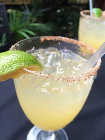 Big Daddy's Grill: Our margaritas at Big Daddy's