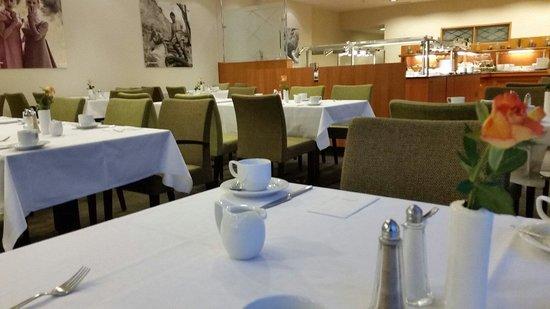 avendi Hotel am Griebnitzsee: Der Frühstücksraum