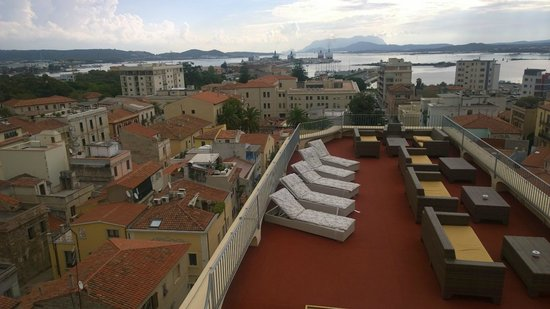 Hotel Panorama : View from the terace of the hotel