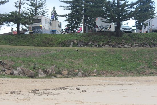 horseshoe bay caravan park foto van horseshoe bay. Black Bedroom Furniture Sets. Home Design Ideas