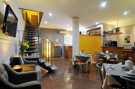 Hotel Angelica: Breakfast Hall