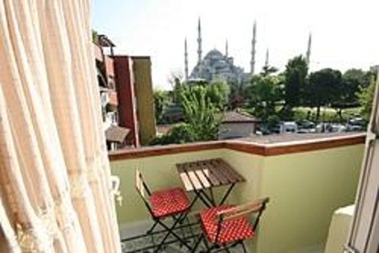 Armagrandi Spina Istanbul: Superior Double room balcony view