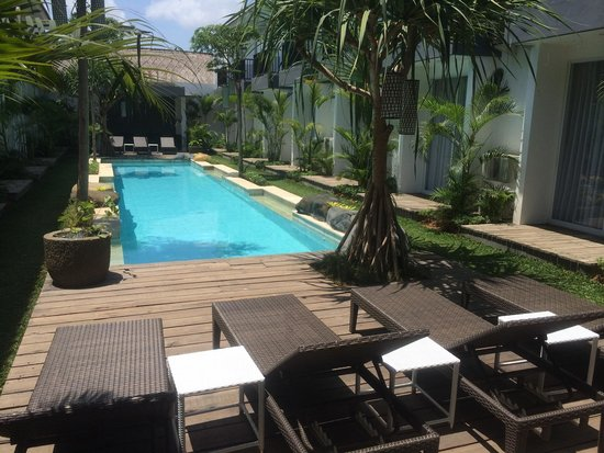 7 Bidadari Boutique Hotel: Every room are pool view. Clean swimming pool