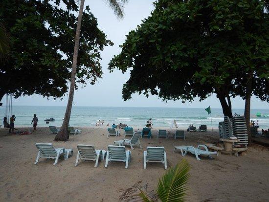 King's Garden Resort : view from breakfast