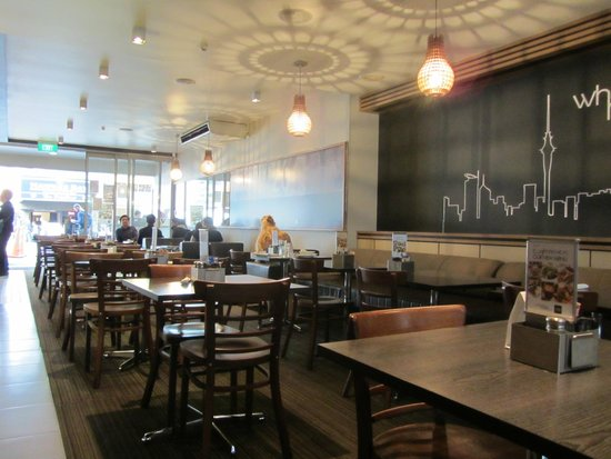 The Coffee Club Restaurant Interior Of
