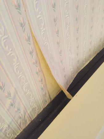 Worlington Hall: The bedroom