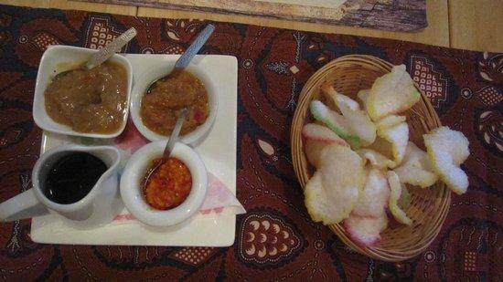 Indonesia Restaurant: Dips