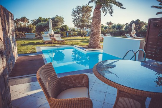 Amirandes, Grecotel Exclusive Resort: вид из номераamirandes junior family suite with pool