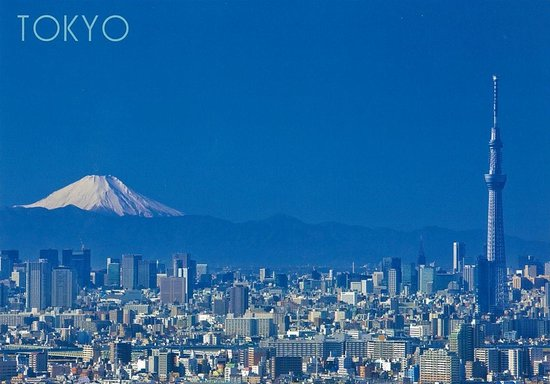 "Shibuya Tobu Hotel: We sell postcards ""Mt.Fuji"""