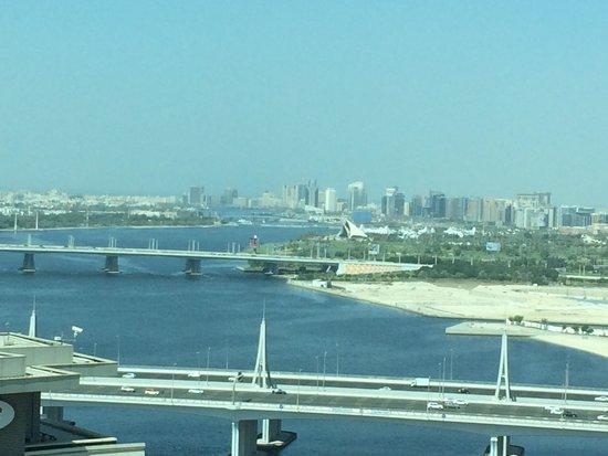 InterContinental Dubai Festival City: View my room, city view & greek
