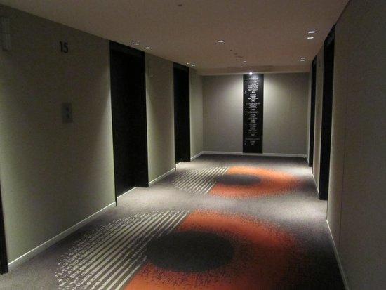 Hotel Nikko Osaka: 客室前