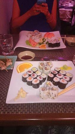 Sushi Yaki : maki et sushi