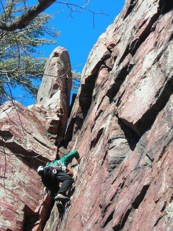 Devils Lake Climbing Guides: Evanston Township Climb