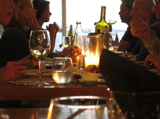 Kastro Bar Mykonos: Dinner at Kastros, little Venice, Mykonos