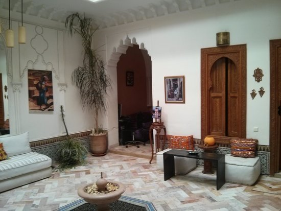 Riad Radia : main entrance