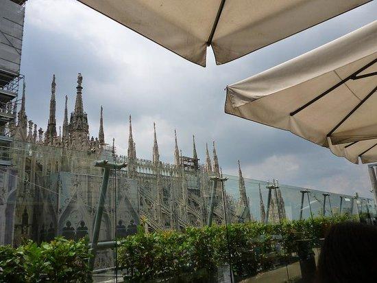 La Rinascente: 景色が高いので料金が高くても仕方ない