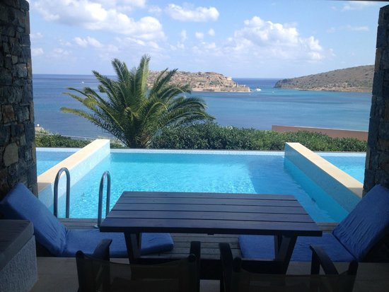 Blue Palace, a Luxury Collection Resort & Spa, Crete: view from the room