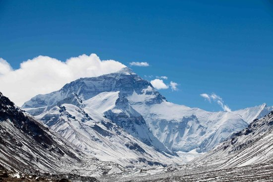 Mt. Qomolangma Nature Reserve : Mt Everest on a clear day