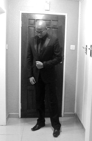 Bulawayo Rainbow Hotel: getting ready to perform stand up comedy at Bulawayo Rainbow