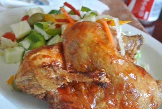 Bulawayo Rainbow Hotel: Yum this chicken and salad was just yum