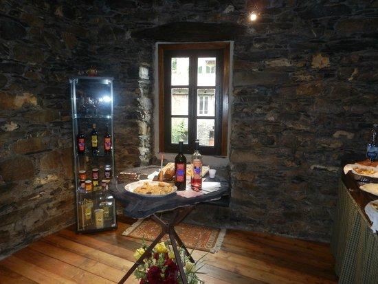 Pornassio, Itália: Saletta degustazione