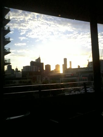 The Sebel Residences Melbourne Docklands : Early morning view-stunning