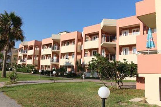 Hotel Marika: Lägenheter i tre våningar utan hiss