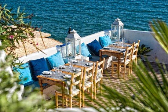 Brisas del mar picture of vivero beach club restaurant for Viveros barcelona