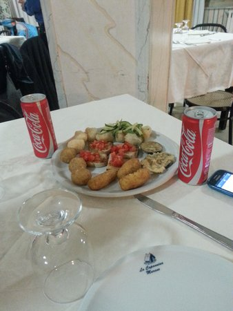 Ristorante Pizzeria La Capannina: antipasto
