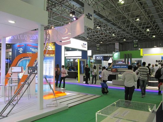 Riocentro Exhibition & Convention Center : Por dentro (Rio Oil & Gas)