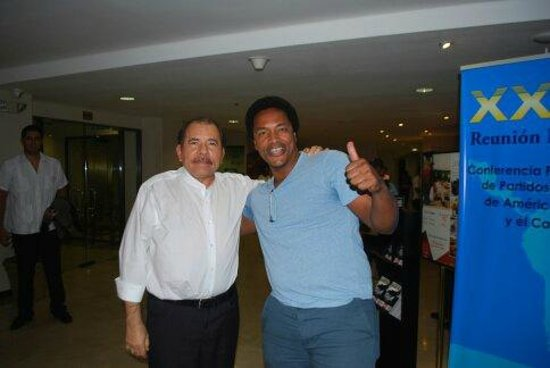 Holiday Inn Managua - Convention Center: President Daniel Ortega Chance Meeting. More Than Way too Cool!!!