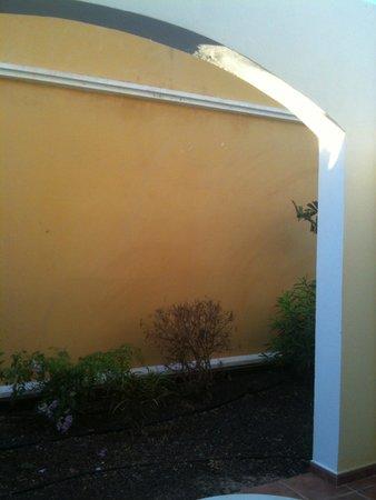 Ambar Beach Resort & Spa: vue de notre chambre