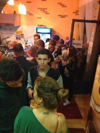 Province of Ferrara, Italien: serata reggae
