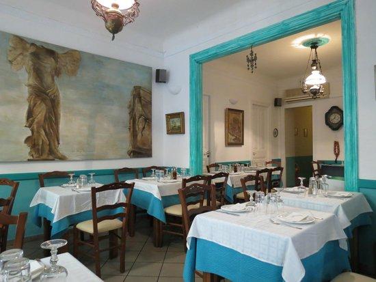 I Palia Athena : Restaurant interior