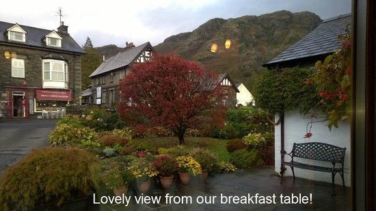 Orchard Cottage: Lovely view from our breakfast table!