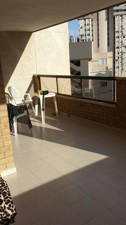 Vistamar Apartments Click Benidorm: Large balcony