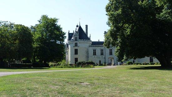 Chateau de Breze : Chateau Breze - Enterance